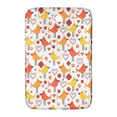 Animal Pattern Happy Birds Seamless Pattern Samsung Galaxy Note 8 0 N5100 Hardshell Case  by Amaryn4rt