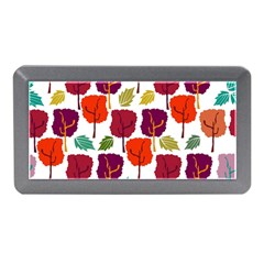 Tree Pattern Background Memory Card Reader (mini) by Amaryn4rt