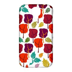 Tree Pattern Background Samsung Galaxy S4 Classic Hardshell Case (pc+silicone) by Amaryn4rt