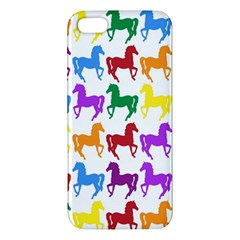 Colorful Horse Background Wallpaper Iphone 5s/ Se Premium Hardshell Case by Amaryn4rt