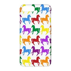 Colorful Horse Background Wallpaper Apple Iphone 7 Plus Hardshell Case