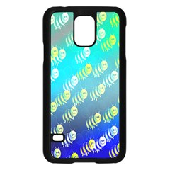 Animal Nature Cartoon Wild Wildlife Wild Life Samsung Galaxy S5 Case (black)