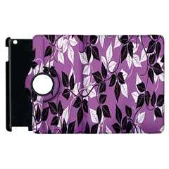 Floral Pattern Background Apple Ipad 3/4 Flip 360 Case by Amaryn4rt