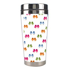 Pattern Birds Cute Design Nature Stainless Steel Travel Tumblers