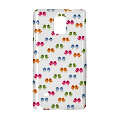 Pattern Birds Cute Design Nature Samsung Galaxy Note 4 Hardshell Case