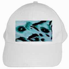 Animal Cruelty Pattern White Cap