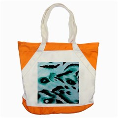 Animal Cruelty Pattern Accent Tote Bag by Amaryn4rt