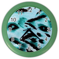 Animal Cruelty Pattern Color Wall Clocks