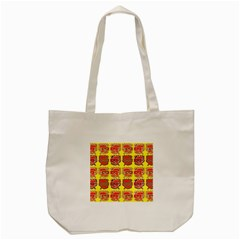 Funny Faces Tote Bag (cream)