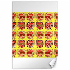 Funny Faces Canvas 24  X 36