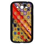 Background Texture Pattern Samsung Galaxy Grand DUOS I9082 Case (Black) Front