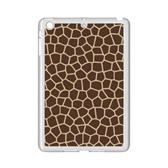 Leather Giraffe Skin Animals Brown Ipad Mini 2 Enamel Coated Cases