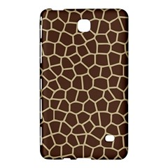 Leather Giraffe Skin Animals Brown Samsung Galaxy Tab 4 (7 ) Hardshell Case  by Alisyart