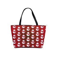 Card Cartoon Christmas Cold Shoulder Handbags by Amaryn4rt