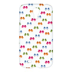 Pattern Birds Cute Design Nature Samsung Galaxy S4 I9500/i9505 Hardshell Case by Amaryn4rt