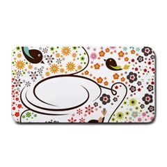Flower Floral Rose Sunflower Bird Back Color Orange Purple Yellow Red Medium Bar Mats