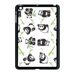 Panda Tile Cute Pattern Apple Ipad Mini Case (black)