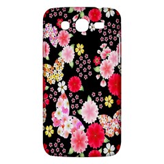 Flower Arrangements Season Rose Butterfly Floral Pink Red Yellow Samsung Galaxy Mega 5 8 I9152 Hardshell Case  by Alisyart