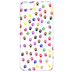 Paw Prints Background Apple Iphone 5 Classic Hardshell Case