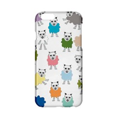 Sheep Cartoon Colorful Apple Iphone 6/6s Hardshell Case by Amaryn4rt