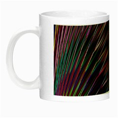 Texture Colorful Abstract Pattern Night Luminous Mugs by Amaryn4rt