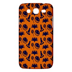Witch Hat Pumpkin Candy Helloween Blue Orange Samsung Galaxy Mega 5 8 I9152 Hardshell Case