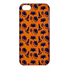Witch Hat Pumpkin Candy Helloween Blue Orange Apple Iphone 5c Hardshell Case by Alisyart