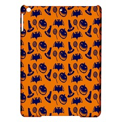 Witch Hat Pumpkin Candy Helloween Blue Orange Ipad Air Hardshell Cases by Alisyart