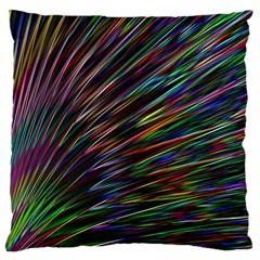 Texture Colorful Abstract Pattern Standard Flano Cushion Case (one Side) by Amaryn4rt