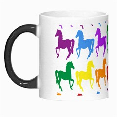 Colorful Horse Background Wallpaper Morph Mugs by Amaryn4rt