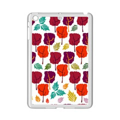 Tree Pattern Background Ipad Mini 2 Enamel Coated Cases