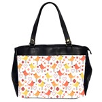 Animal Pattern Happy Birds Seamless Pattern Office Handbags (2 Sides)  Front
