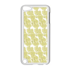 Waves Flower Apple Ipod Touch 5 Case (white)