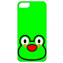 Animals Frog Face Green Apple Iphone 5 Classic Hardshell Case