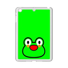 Animals Frog Face Green Ipad Mini 2 Enamel Coated Cases