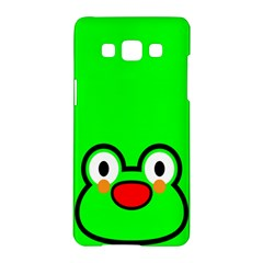 Animals Frog Face Green Samsung Galaxy A5 Hardshell Case