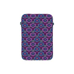 African Fabric Flower Purple Apple Ipad Mini Protective Soft Cases by Alisyart