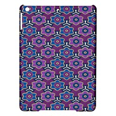 African Fabric Flower Purple Ipad Air Hardshell Cases by Alisyart