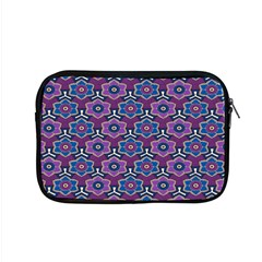 African Fabric Flower Purple Apple Macbook Pro 15  Zipper Case by Alisyart