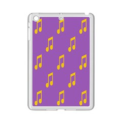 Eighth Note Music Tone Yellow Purple Ipad Mini 2 Enamel Coated Cases