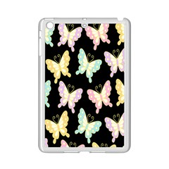 Butterfly Fly Gold Pink Blue Purple Black Ipad Mini 2 Enamel Coated Cases