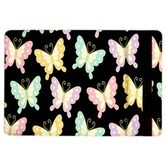 Butterfly Fly Gold Pink Blue Purple Black Ipad Air 2 Flip