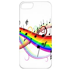 Color Music Notes Apple Iphone 5 Classic Hardshell Case