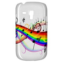 Color Music Notes Galaxy S3 Mini