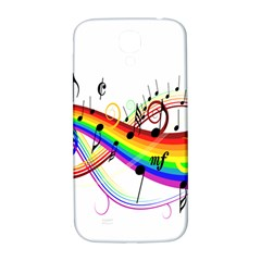 Color Music Notes Samsung Galaxy S4 I9500/i9505  Hardshell Back Case