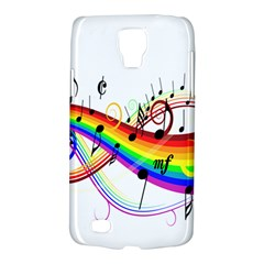 Color Music Notes Galaxy S4 Active by Alisyart