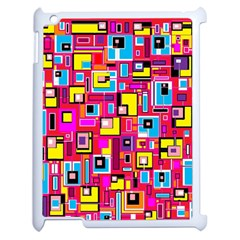 File Digital Disc Red Yellow Rainbow Apple Ipad 2 Case (white)