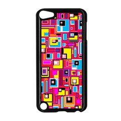 File Digital Disc Red Yellow Rainbow Apple Ipod Touch 5 Case (black) by Alisyart