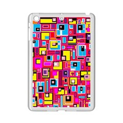 File Digital Disc Red Yellow Rainbow Ipad Mini 2 Enamel Coated Cases