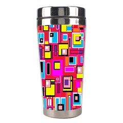File Digital Disc Red Yellow Rainbow Stainless Steel Travel Tumblers